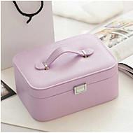 1pc lilla farge enkel europeisk stil koreansk hånd smykker oppbevaringsboks