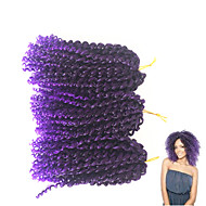 Jerry Enrolado 100% cabelo kanekalon 100% cabelo kanekalon Tranças Encaracoladas Tranças de cabelo
