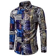Tynd Herre Bomuld, Trykt mønster Skjorte