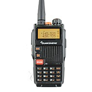 billige Walkie-talkies-Quansheng tg-k4at (uv) dual band toveis radio5w 128ch fm bærbar toveis cb ham radio quansheng walkie talkie