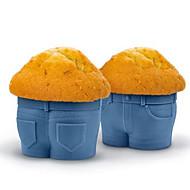 billige Bakeredskap-Cake Moulds Cup Klær Dagligdags Brug Til Småkaker Til Kake For kjøkkenutstyr for Egg For Småkake Kake Silikon GDS Høsttakkefest Bursdag