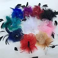 Χαμηλού Κόστους Αξεσουάρ για πάρτι-φτερό καθαροί γοητευτικό λουλούδια κεφάλι κλασικό θηλυκό στυλ