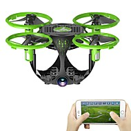 RC Drone FQ777 FQ26 4 Kanal 6 Eksen WIFI 0.3MP HD Kamera ile RC 4 Pervaneli Helikopter Yükseklik Holding İleri geri WIFI FPV LED