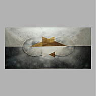 cheap Oil Paintings-Hand-Painted Abstract Horizontal, Abstract Canvas Oil Painting Home Decoration One Panel