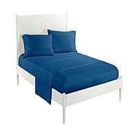 cheap Sheet Sets & Pillowcases-Comfortable 100% Polyester Sheet Set Plain Solid Piece Dyed 300 Tc