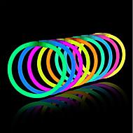 oplicht speelgoed glow stick armbanden gemengde kleuren party favoriete benodigdheden (tube van 20)