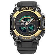 billige Quartz-Dame Quartz Digital Watch / Militærur / Sportsur Japansk Kalender / Kronograf / Vandafvisende / Stor urskive / Punk / Sej / Selvlysende i