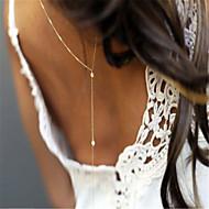 Perle Corp lanț / burtă lanț Imitație de Perle femei, Modă Pentru femei Auriu / Argintiu Bijuterii de corp Pentru Petrecere / Ocazie specială / Casual