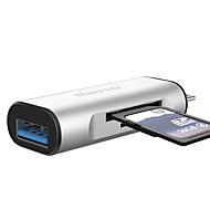 USB 3.0 タイプC USBケーブルアダプタ ALL-IN-1 1 - 3 ハイスピード OTG 用途 MacBook Pro Macbook 6.8 cm アルミ