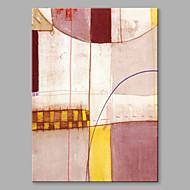 billiga Abstrakta målningar-Hang målad oljemålning HANDMÅLAD - Abstrakt Artistisk Duk