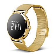 tanie Inteligentne zegarki-Inteligentne Bransoletka Ekran dotykowy Pulsometr Wodoszczelny Spalone kalorie Krokomierze Rejestr ćwiczeń Śledzenie odległości Kontrola