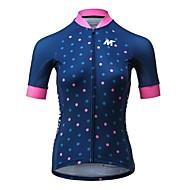 hesapli MYSENLAN®-Mysenlan Bisiklet Forması Kadın's Kısa Kollu Bisiklet Forma Bisiklet Elbiseleri Hızlı Kurulama Moda Yol Bisikletçiliği Eğlence