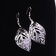 Žene Viseće naušnice Moda Legura Leaf Shape Jewelry Vjenčanje Dnevno Nakit odjeće