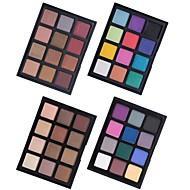 billiga Ögonskuggor-12 färger Ögonskuggor Present / Öga / Universal Vardagsmakeup / Halloweenmakeup / Festmakeup Dagligen Smink Kosmetisk / Matt / Skimmrig