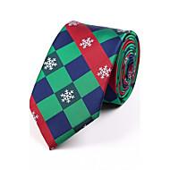 tanie Akcesoria dla mężczyzn-Męskie Kratka Krawat Żakard
