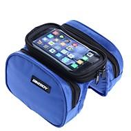 Vesker til sykkelramme Mobilveske 5.7 tommers Vanntett Regn-sikker Berøringsskjerm Sykling til Iphone 8 Plus / 7 Plus / 6S Plus / 6 Plus