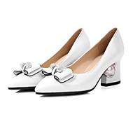 Coût Mujer Zapatos Ante Verano Confort Zuecos y pantuflas Tacón Cuadrado Dedo Puntiagudo Rosa / Nudo Original Prix Pas Cher 28vXFZ