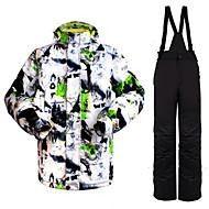 Wild Snow Muškarci Skijaška jakna i hlače Toplo Vodootporno Vjetronepropusnost Prozračnost Skijanje Zimski sportovi
