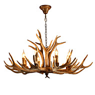 Artistic Chic & Modern Retro Chandelier For Bedroom Shops/Cafes AC 220-240 AC 110-120V Bulb not included