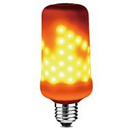 1pc e27 4w 3 režimy 99leds led plamenový efekt požární světlo led kukuřičné světlo ac85-265v