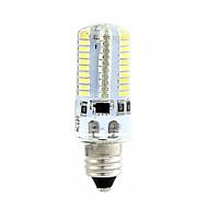 billige Kornpærer med LED-BRELONG® 1pc 4W 360 lm E14 LED-kornpærer T 80 leds SMD 3014 Mulighet for demping Varm hvit Hvit 220V 110