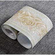 Blumen Tapete Für Privatanwender Zeitgenössisch Wandverkleidung , PVC/Vinyl Stoff Selbstklebend Tapete , Zimmerwandbespannung