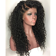 Kinky Curly Wigs Full Lace Wigs Brazilian Human Hair Wigs For Women With Baby Hair 130% Density Wigs