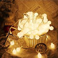 10 m 100 leds balvormige lichtslingers ac220v vakantie decoratie lamp festival lichten buitenverlichting
