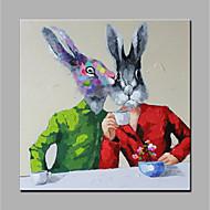 Pintados à mão Animal Modern 1 Painel Tela Pintura a Óleo For Decoração para casa