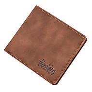 Men Bags PU Coin Purse Pockets for Shopping Casual All Seasons Blue Black Gray Dark Brown