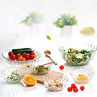 billiga Köksförvaring-6 Kök Glas Mat förråd