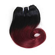 Âmbar Cabelo Brasileiro Ondulado Ondulado Natural Onda de Corpo 1 ano 4 tece cabelo 0.1 kg Mechas Rápidas Tecidas