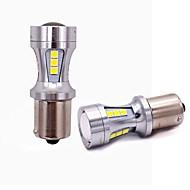 2pcs T20 / 1157 / 1156 Automatisch Lampen 18W SMD 5050 1800lm 18 Achterlicht For Universeel Alle jaren