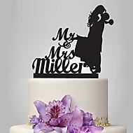 Figure za torte Klasični Tema Romantika Vjenčanje Par Classic plastika Vjenčanje s 1 Poli Bag