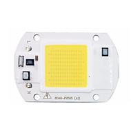 cob diy levou chip 110v 220v de entrada 20w de alta potência inteligente ic nenhum motorista levou luz lâmpada de luz de inundação
