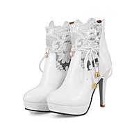 Žene Cipele Sintetika, mikrofibra, PU Zima Jesen Udobne cipele Inovativne cipele Čizmice Čizme Stiletto potpetica Krakova Toe Čizme