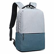 billige Computertasker-Unisex Tasker Oxfordtøj Laptoptaske Lynlås for udendørs Rosa / Sort Grå / Navyblå