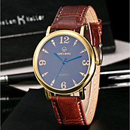 Men's Casual Watch Sport Watch Fashion Watch Unique Creative Watch Chinese Quartz Water Resistant / Water Proof Leather Band Creative