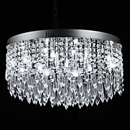 cheap Ceiling Lights-SL® Modern / Contemporary Flush Mount Ambient Light - Crystal, 110-120V / 220-240V Bulb Included