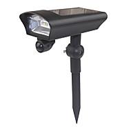 tanie Naświetlacze-1 szt. 0.5 W Reflektory LED Na energię słoneczną Zimna biel 12 V Oświetlenie zwenętrzne 2 Koraliki LED
