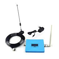mini intelligent display 2g gsm 900mhz mobiltelefon signal booster gsm980 signal repeater med pisk antenne / sucker antenne med 10meters
