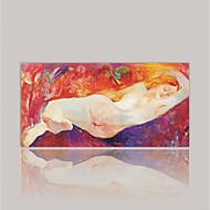 Lærredstryk Abstrakt,Et Panel Kanvas Horisontal Print Vægdekor For Hjem Dekoration