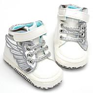 Bebê sapatos Couro Ecológico Outono Inverno Conforto Tênis Para Casual Branco