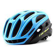 CAIRBULL Voksen Bike Helmet 34 Ventiler CE / CE EN 1077 Nedslags Resistent, Letvægt, Justérbar pasform EPS, PC Sport Vej Cykling / Rekreativ Cykling / Cykling / Cykel - Grøn / Blå / Sort / Rød Herre