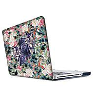 """tanie Akcesoria do MacBooka-MacBook Futerał na Kwiaty Zwierzę Poliwęglan Nowy MacBook Pro 15"""" Nowy MacBook Pro 13"""" MacBook Pro 15 cali MacBook Air 13 cali MacBook"""