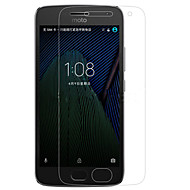 Näytönsuojat varten Motorola Moto G5 Plus Karkaistu lasi Näytönsuoja Teräväpiirto (HD) 9H kovuus 2,5D pyöristetty kulma