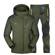 Kaisike® Bărbați Geacă cu Pantaloni de Drumeție În aer liber Iarnă Impermeabil Keep Warm Rezistent la Vânt Izolate Comfortabil Jachetă