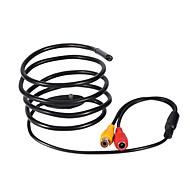 billige Overvåkningskameraer-12v mini kamera 5.5mm linse 1m hard kabel av endoskop kamera ntsc vanntett ip66 inspeksjon borescope slange pipe kamera nattesyn