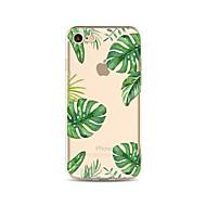 billiga Mobil cases & Skärmskydd-fodral Till Apple iPhone X iPhone 8 Genomskinlig Mönster Skal Träd Mjukt TPU för iPhone X iPhone 8 Plus iPhone 8 iPhone 7 Plus iPhone 7