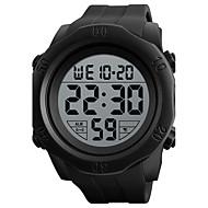 SKMEI Heren Sporthorloge Digitaal horloge Digitaal Silicone Band Zwart Groen